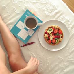 goodmorning breakfast breakfastinbed waffle book freetoedit