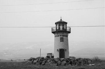 mindshift day260 lighthouse blacknwhite mood
