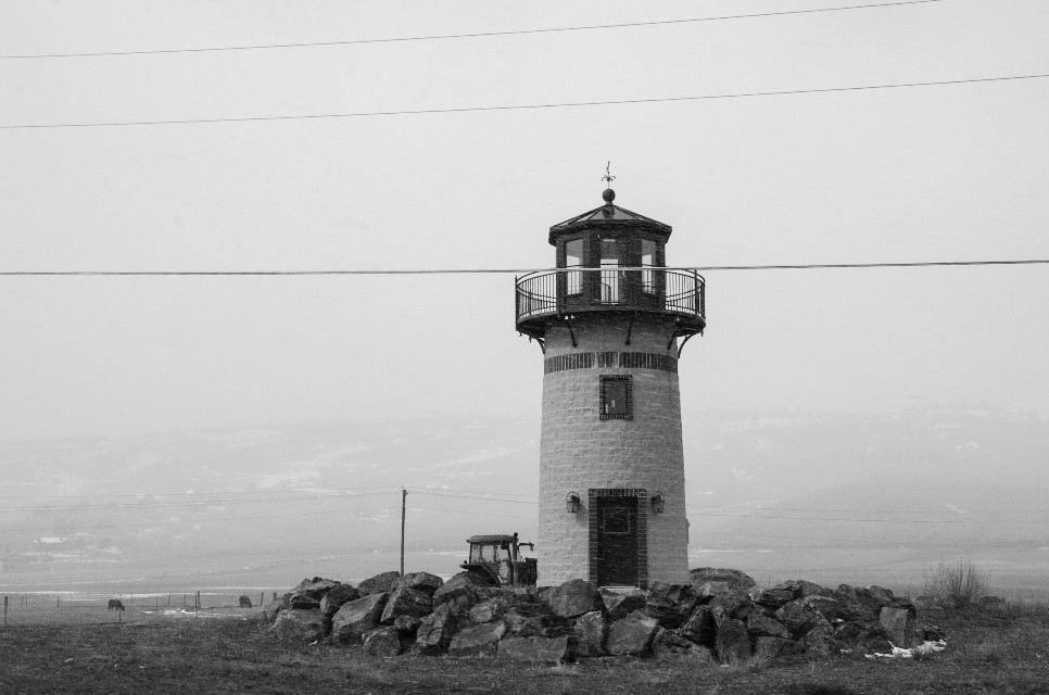Mindshift Day 260  Be a lighthouse to someone looking for a flicker of hope.  #mindshift #Day260 #lighthouse #blacknwhite #mood #landscape