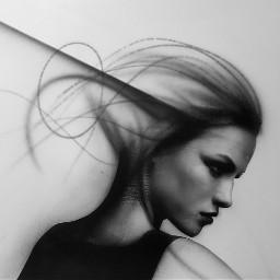 art artist canvas acrylics blackandwhite