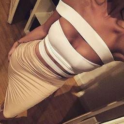 cutedress white curvy tan