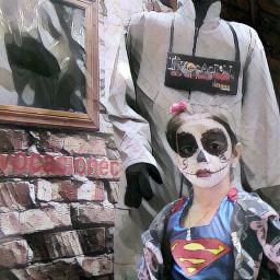 halloween robot superwoman supergirl people freetoedit