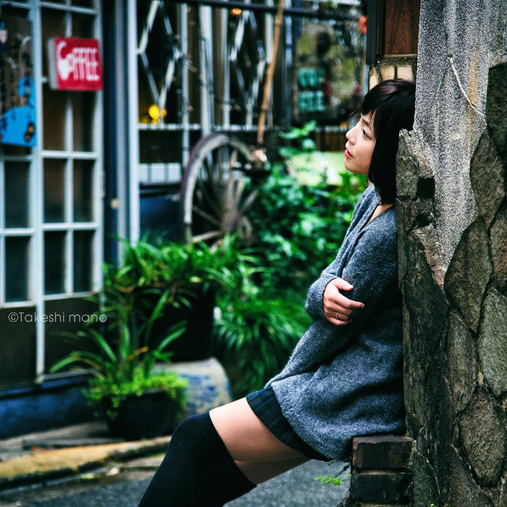 #portrait #portraits #portraitphotography #girl #japan #woman #womanportrait #colors #autumn