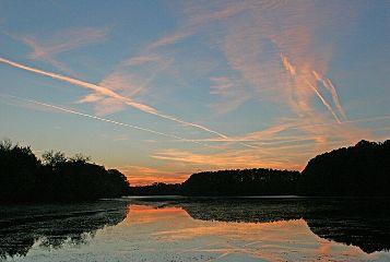 freetoedit landscape sunset alabama pond