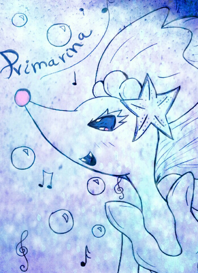 #princess  #primarina  #mermaid  #pokemon  #colorful  #cute