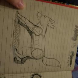 doodle dog demlegs cool animalart