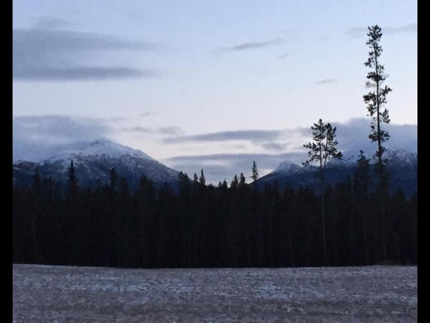 9 am in the Yukon. #FreeToEdit