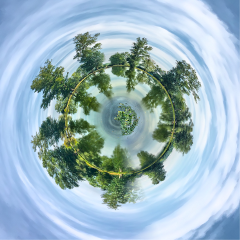 tinyplanet italy nature summer landscape
