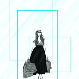 freetoedit remixmechallange shopping blue black