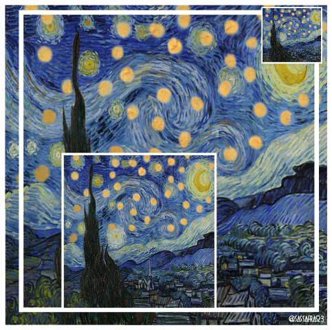 #remix,#starrynight,#vincentvangogh,#vangogh,#postimpressionism
